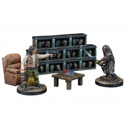 The Governor's Trophy Room Collector's Resin Set