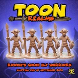 Rookie's Wood Elf Archers