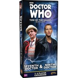 Dr Who Expansion - 3rd & 8th Doctors