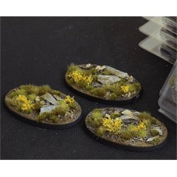 Highland Bases Oval 60mm (x4)
