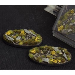 Highland Bases Oval 75mm (x3)