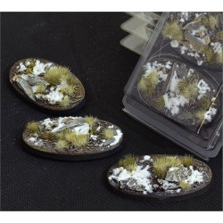 Winter Bases Oval 60mm (x4)