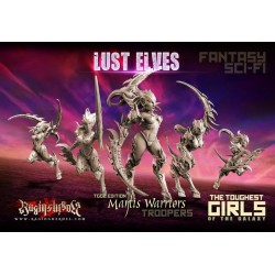 Mantis Warriors -TROOPS, TGG2 Ed.
