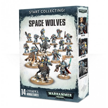 SPACE WOLVES START COLLECTING!