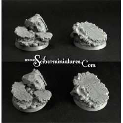 Thor Temple 32 mm round bases (5)