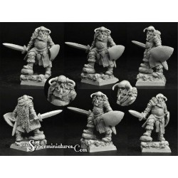 28mm/30mm Dwarf Lord Rihrim