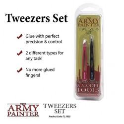 Tweezers Set / Set de pinzas de precisión