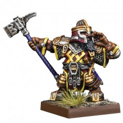 Dwarf Support Pack Mastiff Packmaster (castellano)