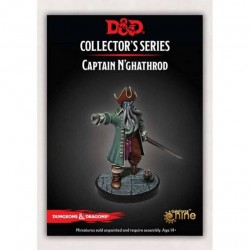 Dungeon of the Mad Mage Captain N'ghathrod (1 Fig)