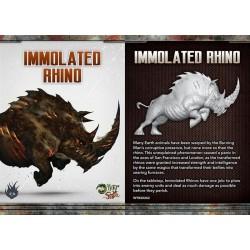 IMMOLATED RHINO