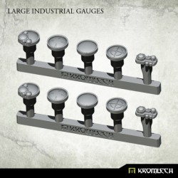 LARGE INDUSTRIAL GAUGES (10)