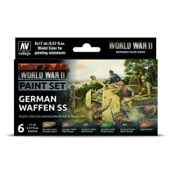 WWII Paint Set German Infantry