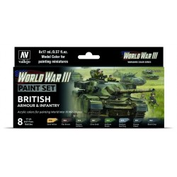 WWIII Paint Set Soviet Armour & Infantry