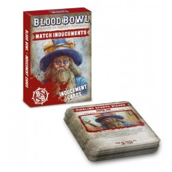 BLOOD BOWL: INDUCEMENTS CARDS (ENG)