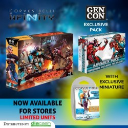SPECIAL BUNDLE GENCON 19 Wildfire + Pack Convention + Valkyrie
