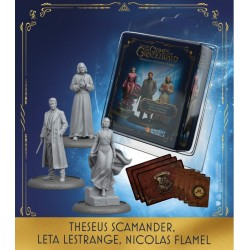 THESEUS SCAMANDER, LETA Y NICOLAS