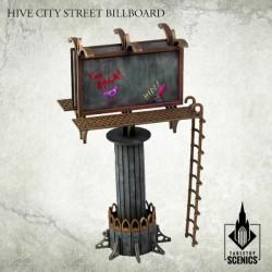 HIVE CITY STREET BILLBOARD