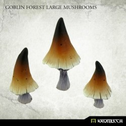 GOBLIN FOREST LARGE MUSHROOMS (3)