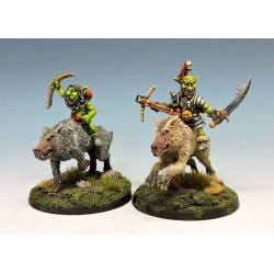 Goblin wolf riders with lance - 3