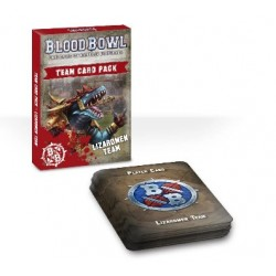 BLOOD BOWL: LIZARDMEN TEAM CARD PACK