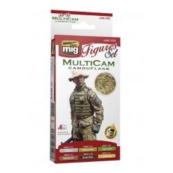 Multicam camouflage set for Figures