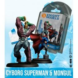 CYBORG SUPERMAN AND MONGUL