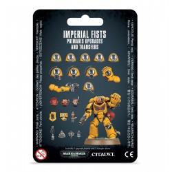 IMPERIAL FISTS PRIMARIS UPGRADES & TRNFS