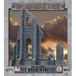 Gothic Battlefields - Broken Façade (x2) 30mm