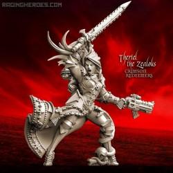 Semariel Iron Hand, Crimson CG