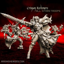 Crimson Redeemers All-Stars – COMMAND