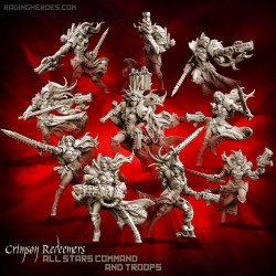 Crimson Redeemers All-Stars - TROOPS