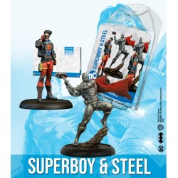 SUPERBOY AND STEEL