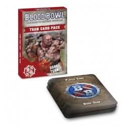 BLOOD BOWL: OGRE TEAM CARD PACK (inglés)