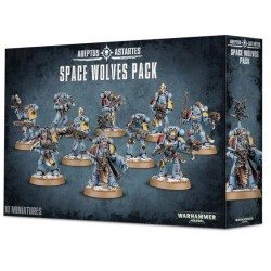 MANADA DE LOBOS ESPACIALES / SPACE WOLVES PACK