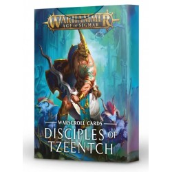 WARSCROLLS: DISCIPLES OF TZEENTCH (español)