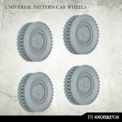 UNIVERSAL PATTERN CAR WHEELS (4)