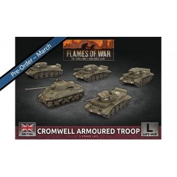 Sherman Armoured Troop (x5 Plastic)