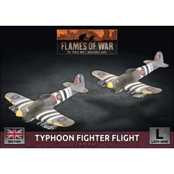 Typhoon Fighter-Bomber Flight (x2 Plastic)