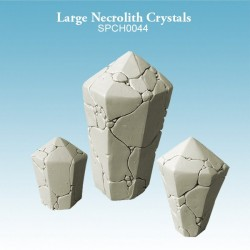 Large Necrolith Crystals