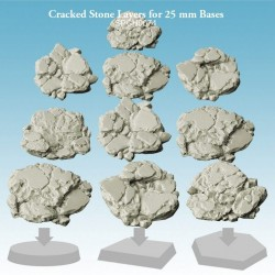 Cracked Stone Layers for 25 mm Bases