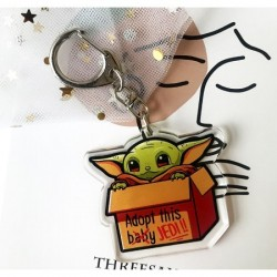 Llavero Baby Yoda 1