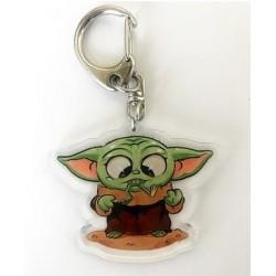 Llavero Baby Yoda 2