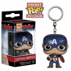 Llavero FunkoPop Capitán América
