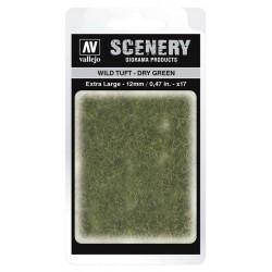 Wild Tuft - Dry Green: 12 mm.