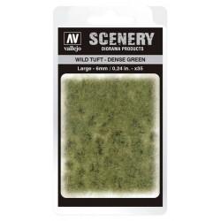 Wild Tuft - Dense Green: 6 mm.