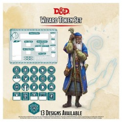 Warlock Token Set (Player Board & 22 tokens)