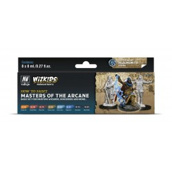 Wizkids Premium set by Vallejo: Wood & Steel
