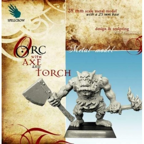 Orc with Sabre and Lantern