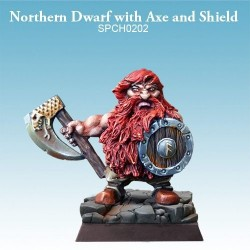 Northern Dwarf with Axe and Shield