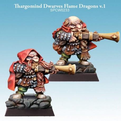 Thargomind Dwarves Flame Dragons v.2